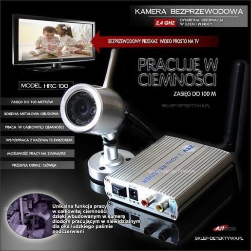 Kamera bezprzewodowa praca w ciemności HRC-100