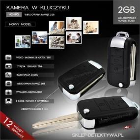 Kamera w kluczyku HD-160 +8GB TOSHIBA