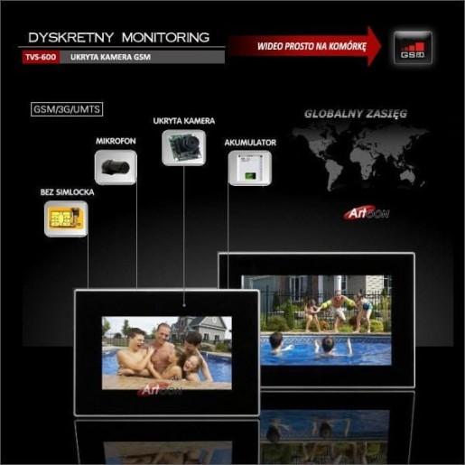 Ukryta kamera GSM -TVS-600. (1)
