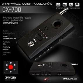 Wykrywacz podsłuchów ,kamer, GPS CX-700 (1)