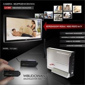 Kamera bezprzewodowa z akumulatorem TVT-200