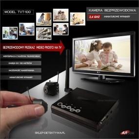 Kamera bezprzewodowa mini TVT-100
