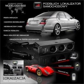 Samochodowy lokalizator podsłuch-praca bez limitu GSX-500