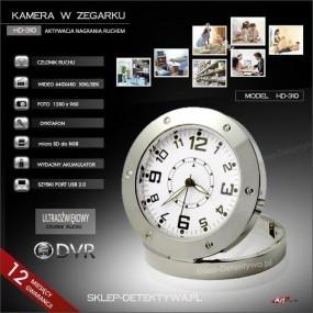 Kamera w zegarku z czujnikiem ruchu HD-310 +8GB TOSHIBA
